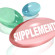 Three colorful dietary supplements to represent vitamins or other over the counter natural medicines you can take to benefit your health and achieve total wellness in your life
