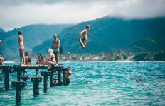 skok do wody