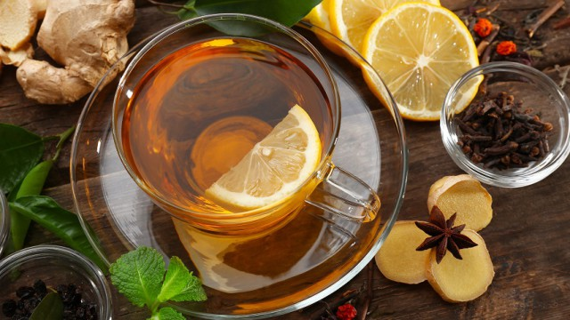 rozgrewająca herbata
