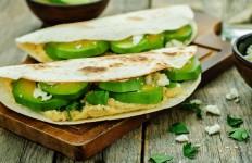 tortilla z awokado