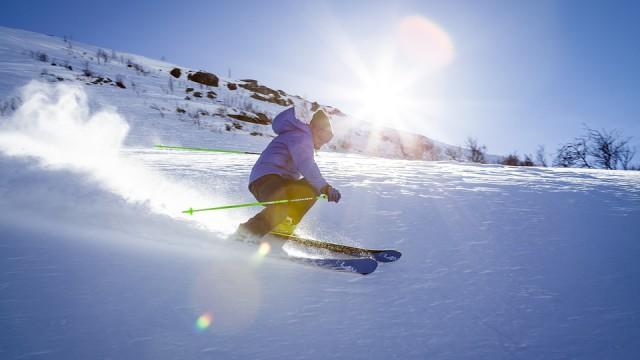 zjazdy na nartach