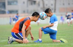 trening piłkarski