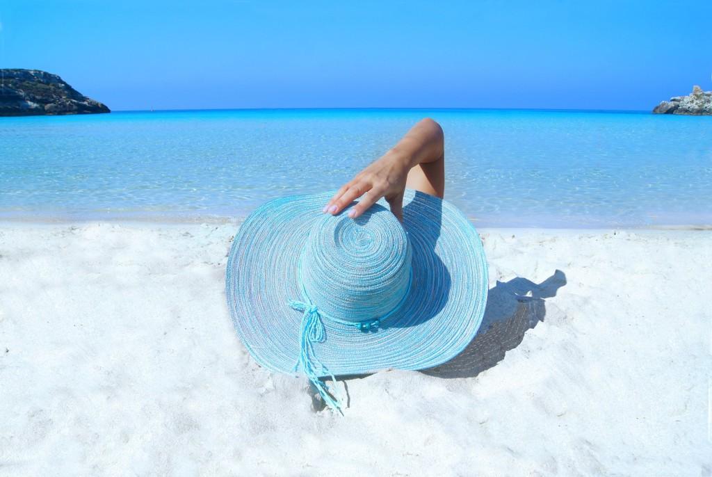 lazurowa plaża