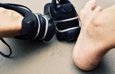 stopy w butach