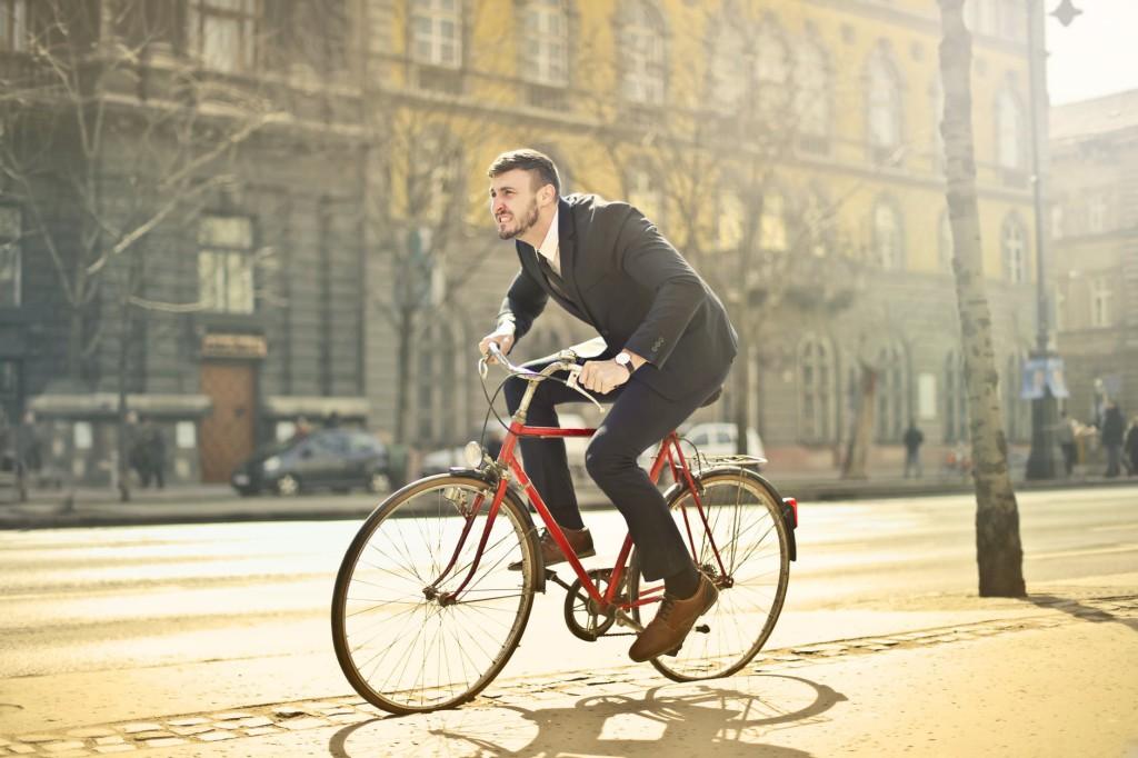 do pracy na rowerze