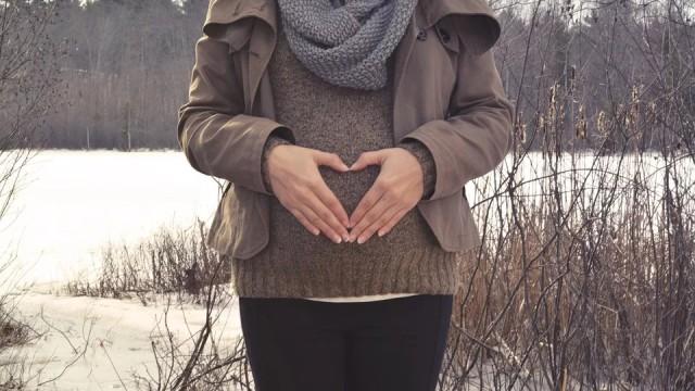 ciąża w zimie